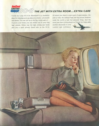 vintage ads United Airlines